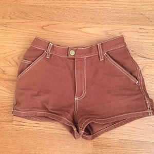 Maroon Urban Outfitter Shorts